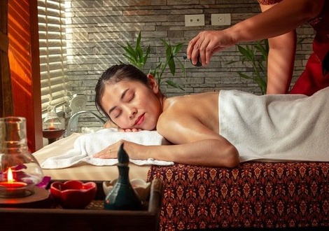Deluxe with Aroma Massage package เราเที่ยวด้วยกัน  Jasmine Grande Residence en 방콕