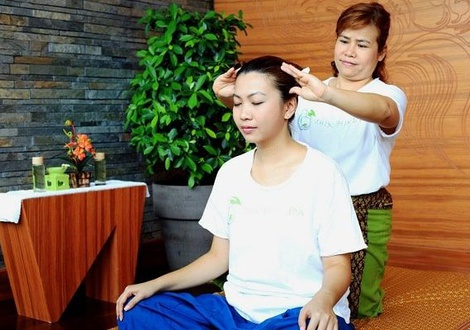 Deluxe with Thai Massage package เราเที่ยวด้วยกัน  Jasmine Grande Residence en 방콕