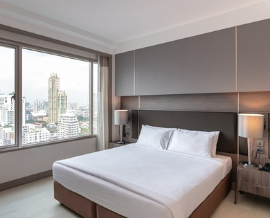DELUXE 2 BEDROOM SUITES Jasmine City Hotel en 방콕