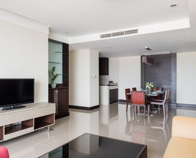 FAMILY SUITES 2 BEDROOM Jasmine Grande Residence en 방콕