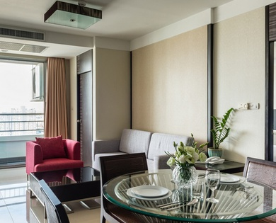 TRIPLE SUITES 2 BEDROOM Jasmine Grande Residence en 방콕